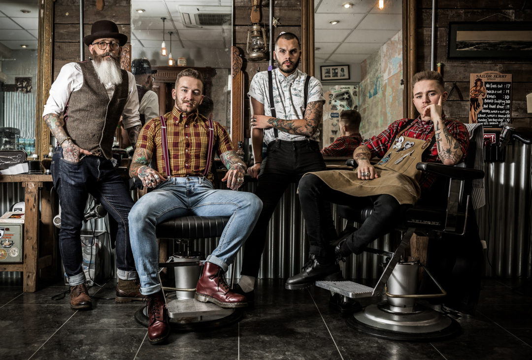 a10a2a7b15c1e Tim Collin`s photos of barbers & barbershops are so edgy.